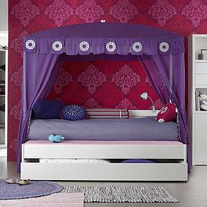 Cajón cama 90x200cm Lifetime blanqueado