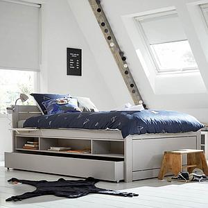 Cajón cama cabina 120x200cm Lifetime gris