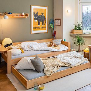 Cajón cama nido DESTYLE de Breuyn haya aceitada