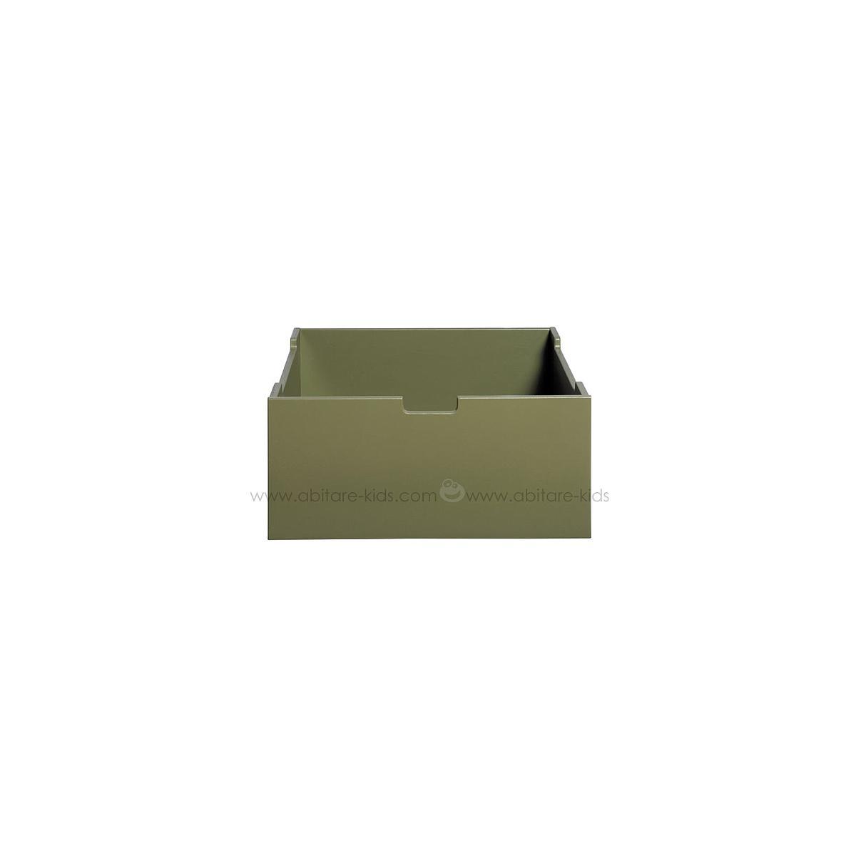 Cajón cómoda-armario MIX & MATCH Bopita Army green