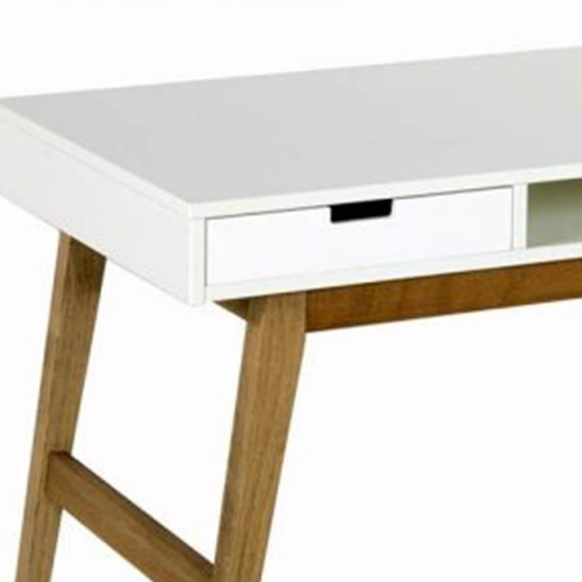Cajón escritorio-mesita de noche TRENDY Quax blanco
