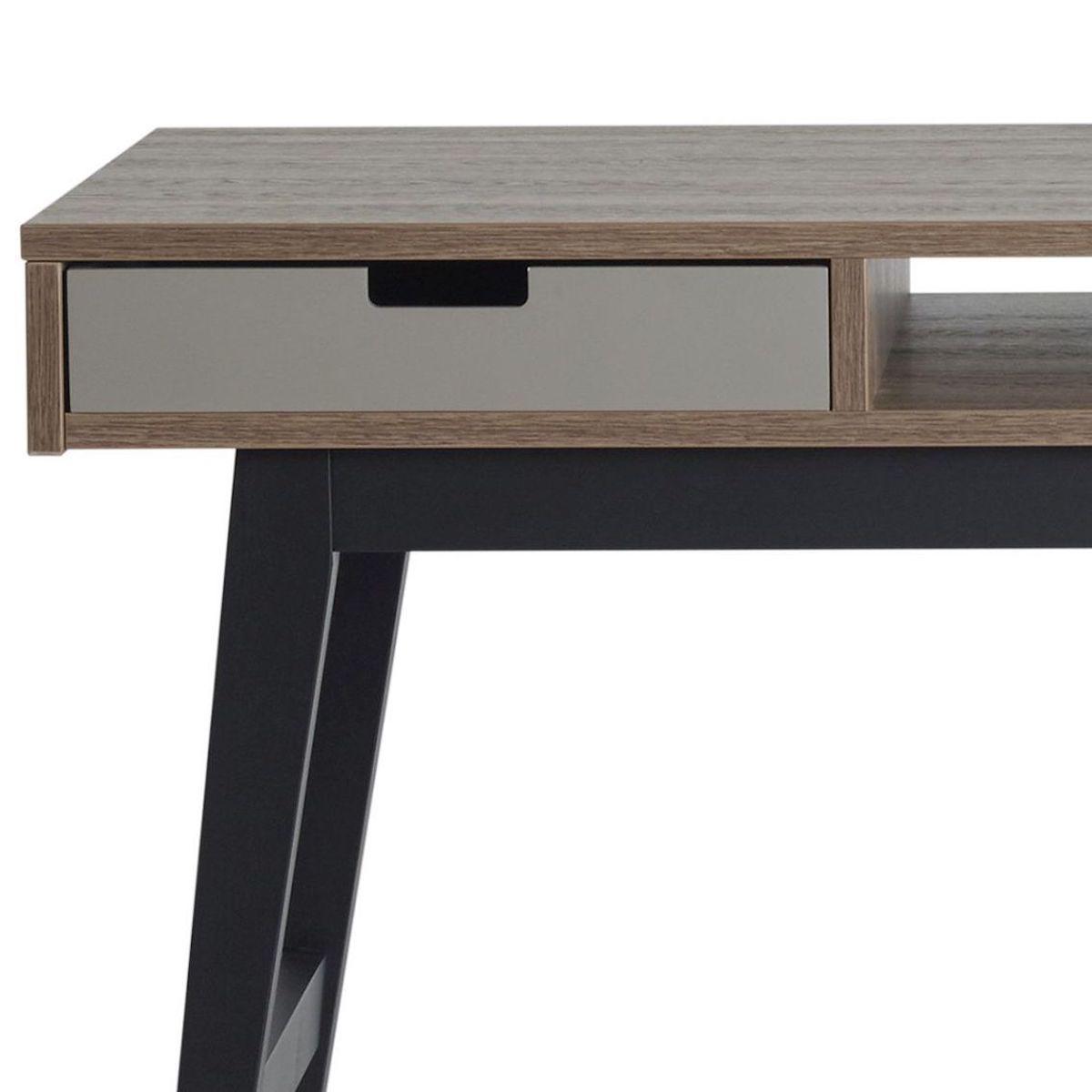 Cajón escritorio-mesita de noche TRENDY Quax royal oak