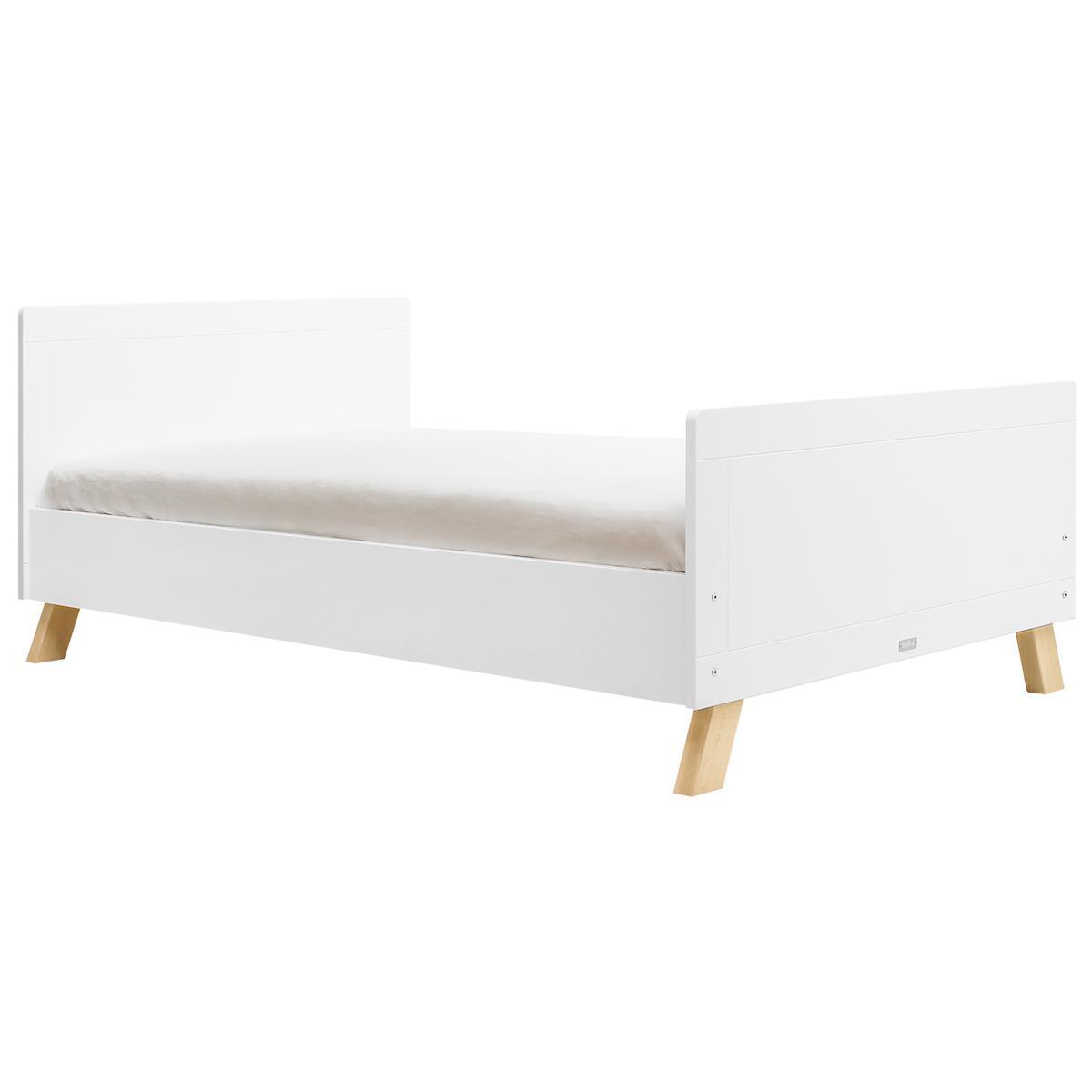 Cama 120x200cm LISA Bopita blanco-natural