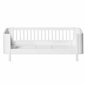 Cama 68x162cm WOOD MINI+ Oliver Furniture blanco