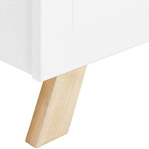 Cama 90x200cm LISA Bopita blanco-natural