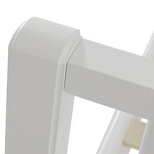 Cama 90x200cm  SEASIDE CLASSIC Oliver Furniture blanco