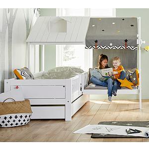 Cama 90x200cm-sofa BEACH HOUSE Lifetime blanco