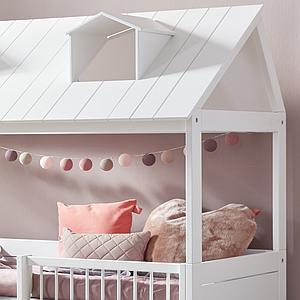 Cama cabaña 90x200cm BEACH HOUSE Lifetime blanco
