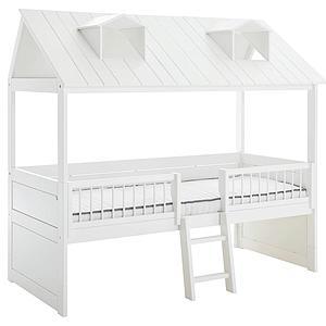 Cama cabaña-cabina 90x200cm BEACH HOUSE Lifetime blanco