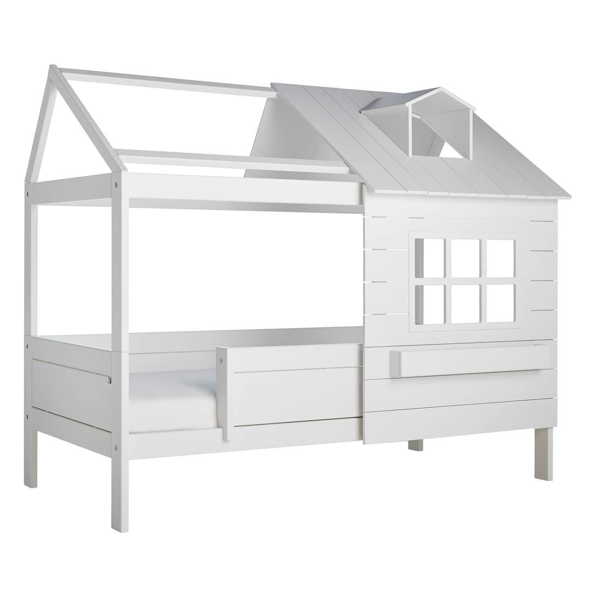 Cama cabaña LAKE HOUSE 1 Lifetime blanco