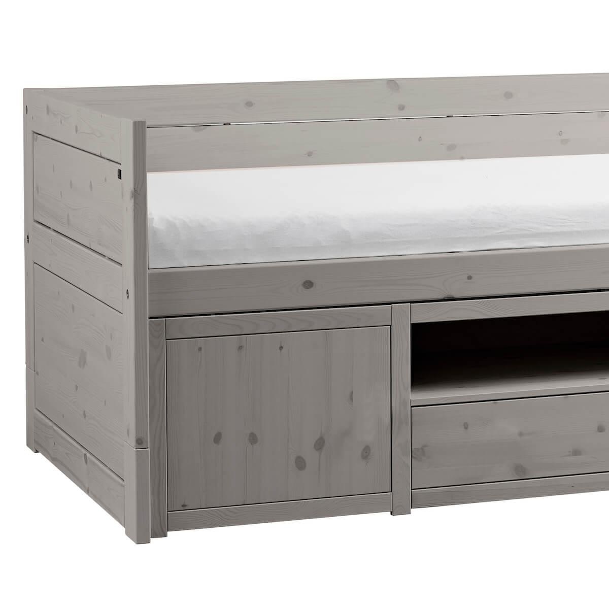 Cama cabina+pequeño mueble Lifetime grey washed
