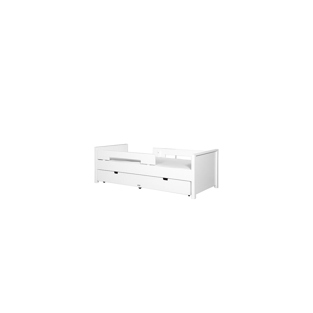 Cama-cajón nido 90x200cm JONNE Bopita blanco