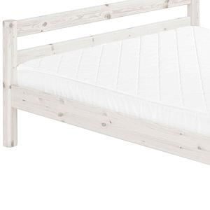 Cama doble somier 140x190 CLASSIC Flexa blanco cal
