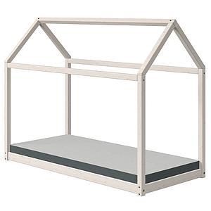 Cama estructura cabaña 90x200cm COTTAGE Flexa blanco cal