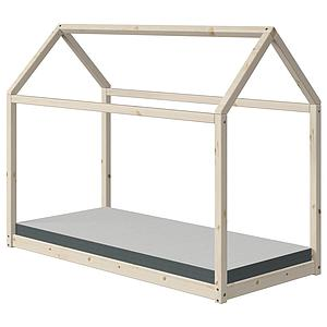 Cama estructura cabaña 90x200cm COTTAGE Flexa natural