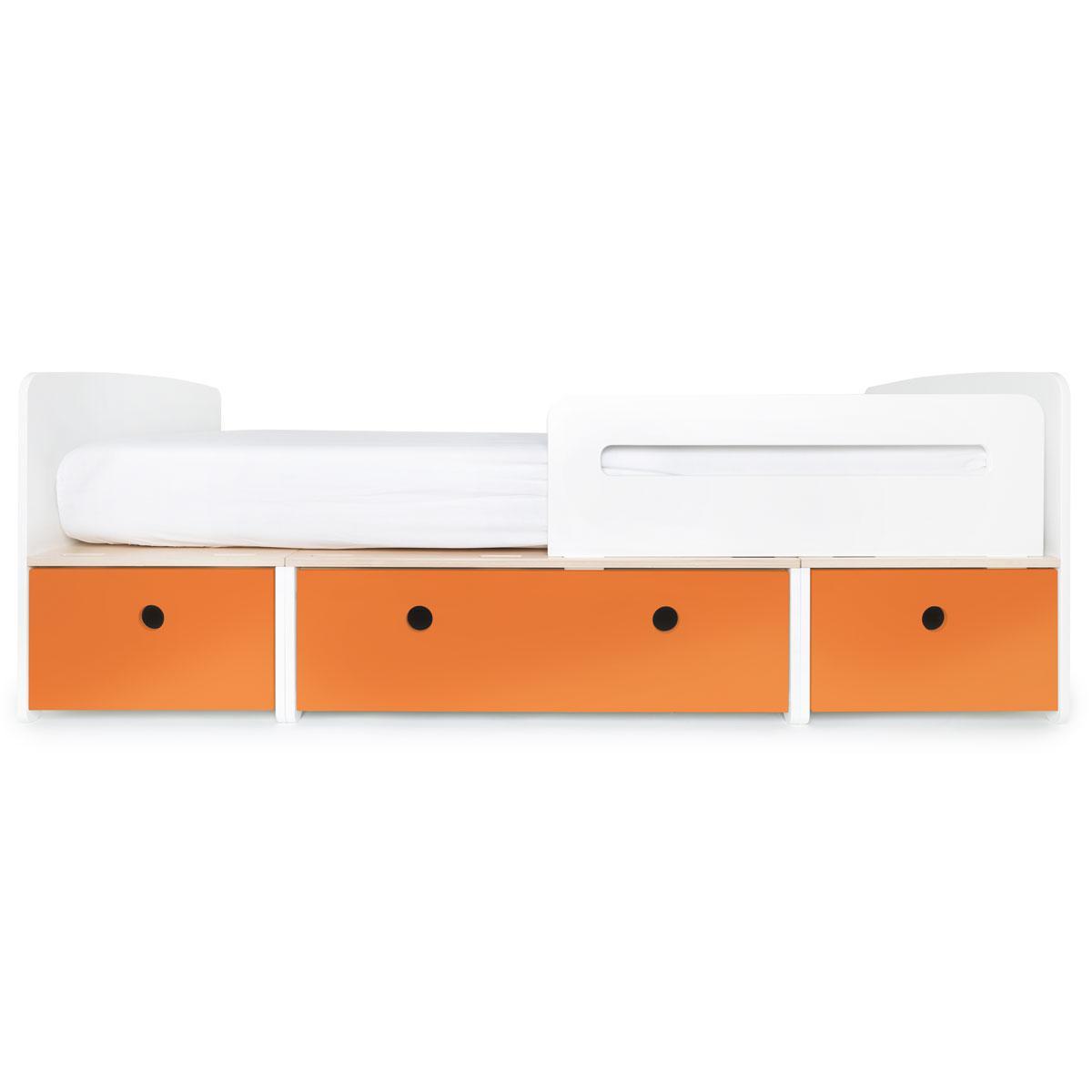 Cama evolutiva 90x200cm COLORFLEX Abitare Kids pure orange