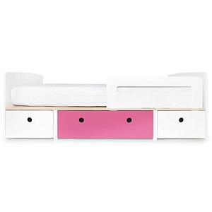 Cama evolutiva 90x200cm COLORFLEX Abitare Kids white-pink-white