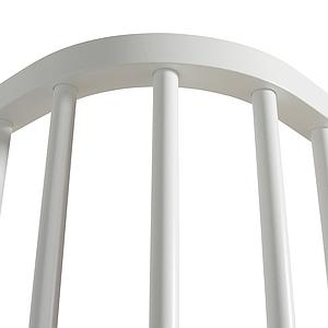Cama evolutiva alta 90x200cm WOOD ORIGINAL Oliver Furniture blanco