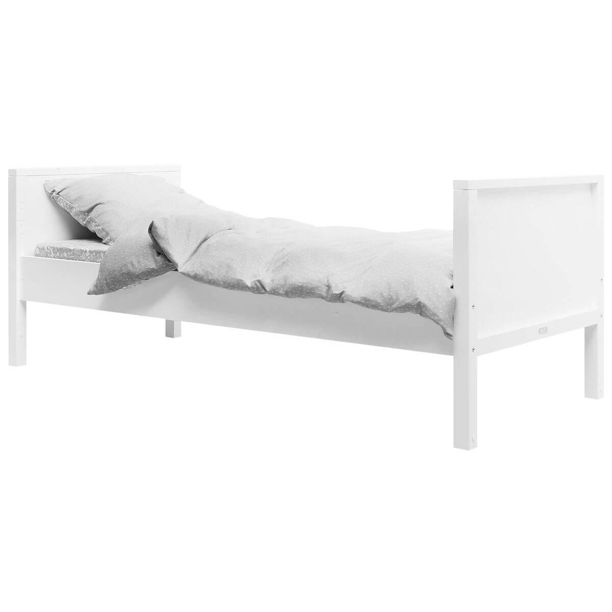 Cama evolutiva básica 90x200cm NORDIC Bopita blanco