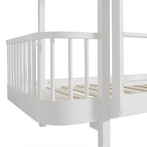 Cama evolutiva literas 90x200cm WOOD Oliver Furniture blanco