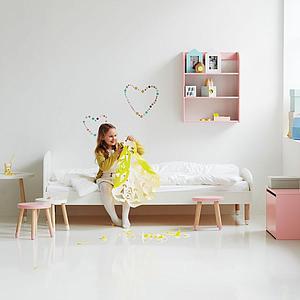 Cama individual 90x200 PLAY Flexa blanca