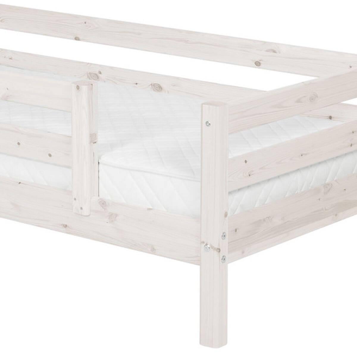 Cama individual barrera 1/2 90x200 CLASSIC Flexa blanco cal