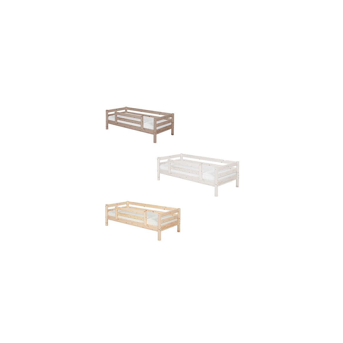 Cama individual barrera 1/2 90x200 CLASSIC Flexa terra
