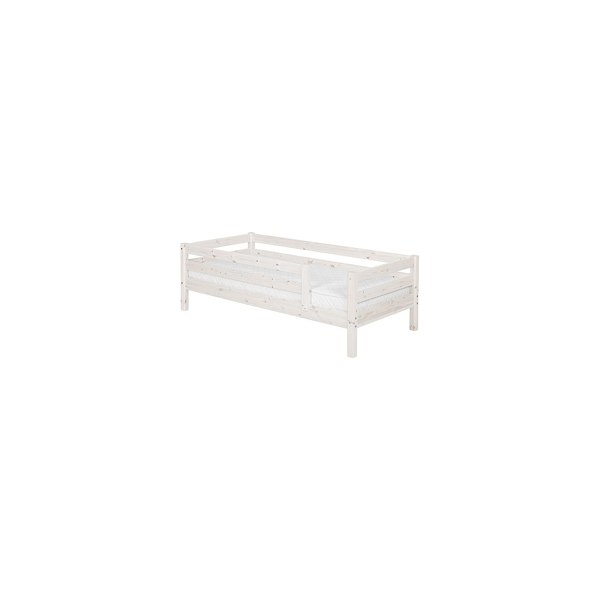 Cama individual barrera 3/4 90x190 CLASSIC Flexa blanco cal