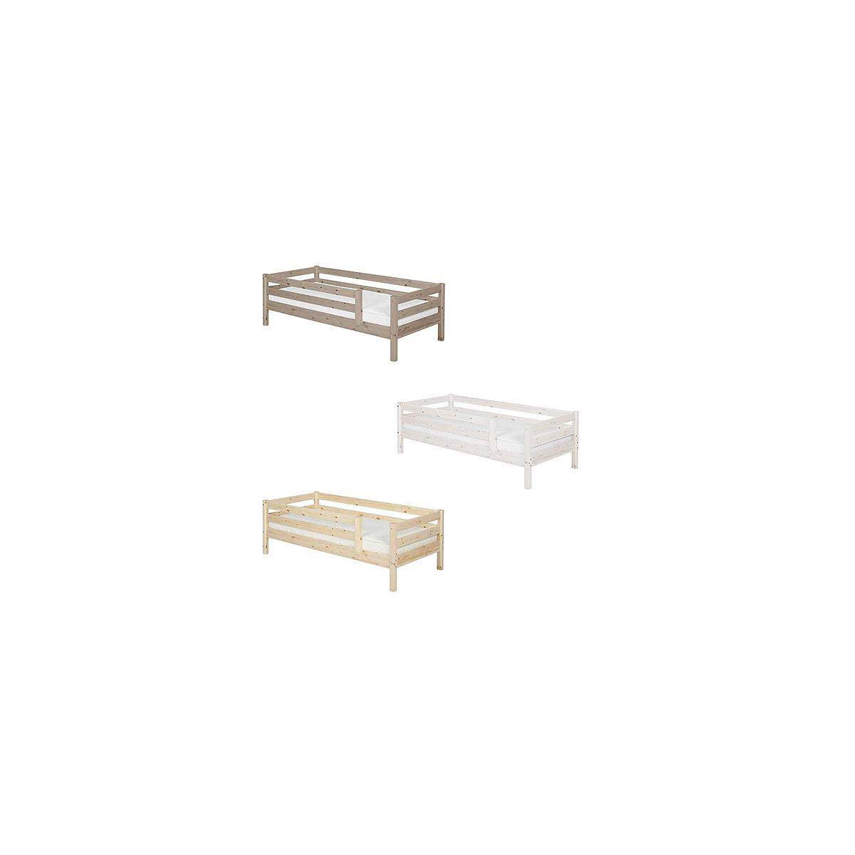 Cama individual barrera 3/4 90x190 CLASSIC Flexa terra