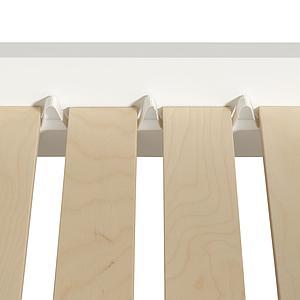 Cama individual evolutiva 90x160cm WOOD ORIGINAL Oliver Furniture blanco