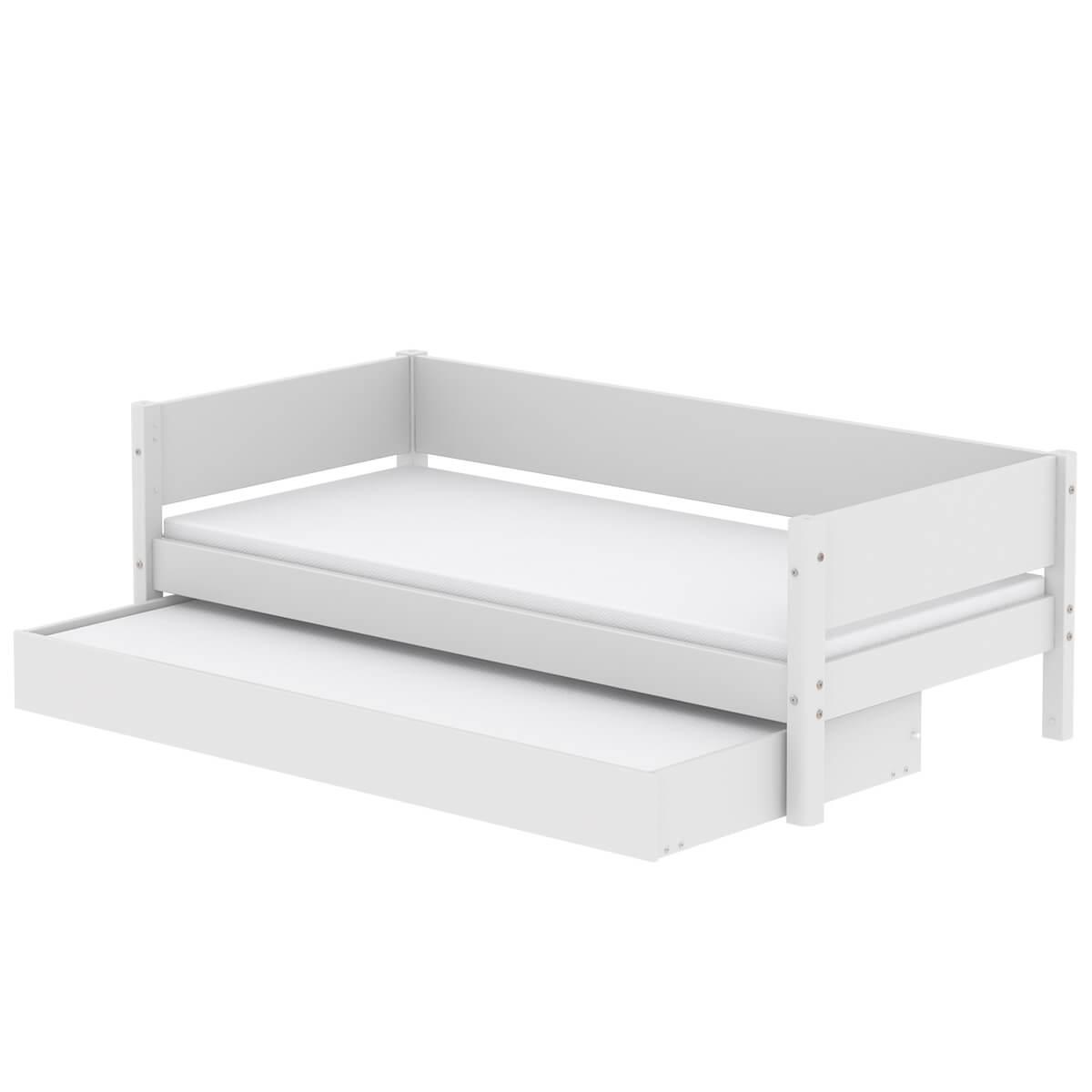 Cama infantil 90x190cm nido WHITE Flexa blanco