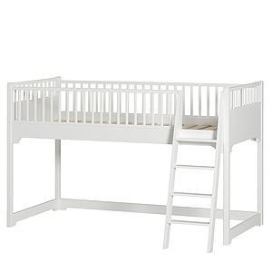 Cama media-alta 90x200cm SEASIDE CLASSIC Oliver Furniture blanco