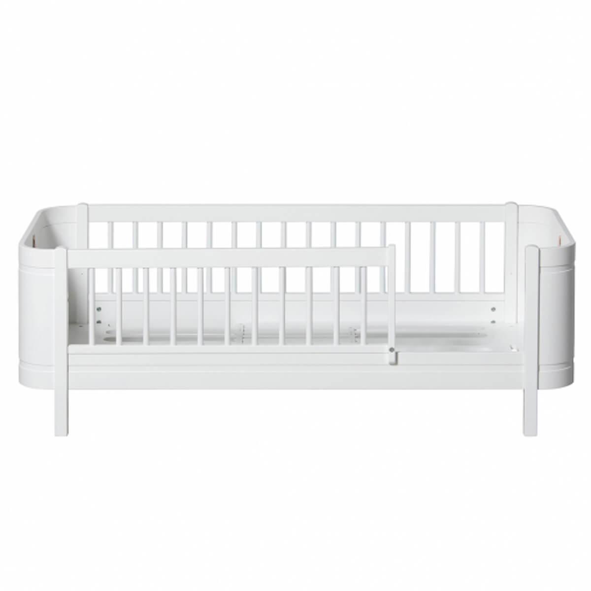 Cama Mini+ 68x162cm Oliver Furniture blanco