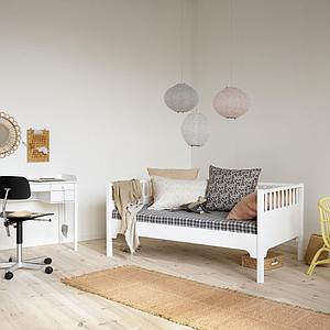 Cama-sofá 90x160cm SEASIDE CLASSIC Oliver Furniture blanco