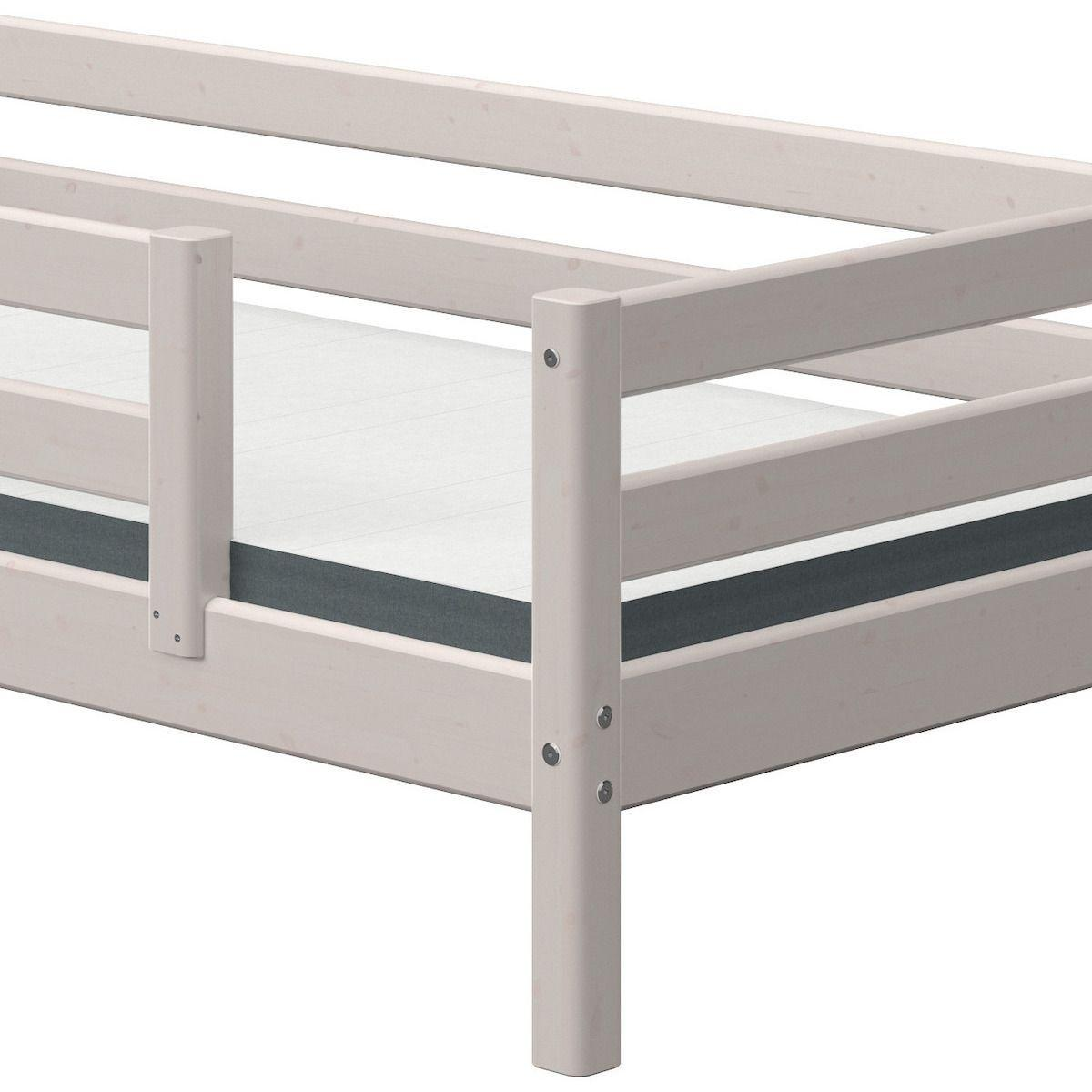 Cama-sofá 90x190cm barrera seguridad centrada CLASSIC Flexa grey washed