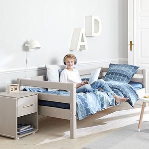 Cama sofá 90x200cm cama nido CLASSIC Flexa grey washed