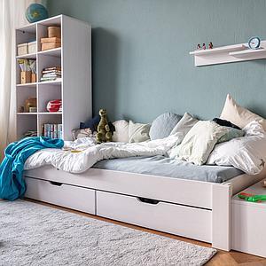 Cama sofá 90x200cm DESTYLE de Breuyn haya blanco