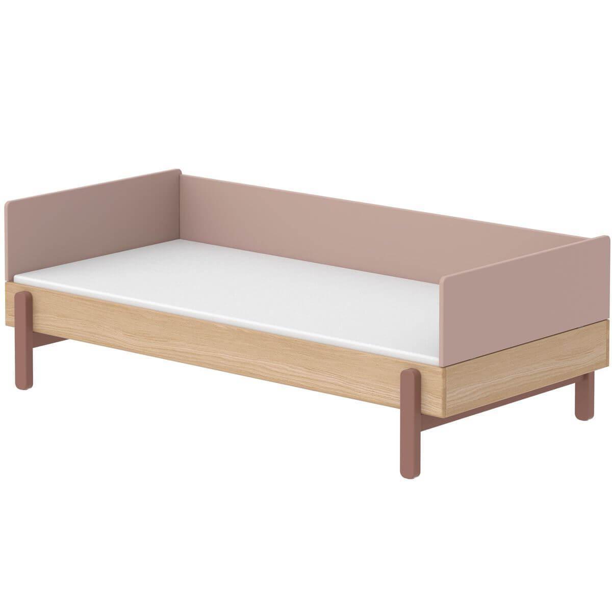Cama-sofá 90x200cm POPSICLE Flexa roble-cherry