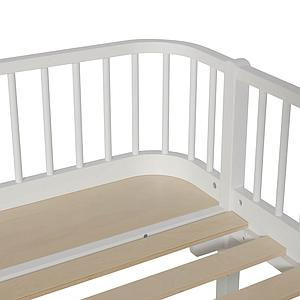 Cama sofá 90x200cm WOOD ORIGINAL Oliver Furniture blanco