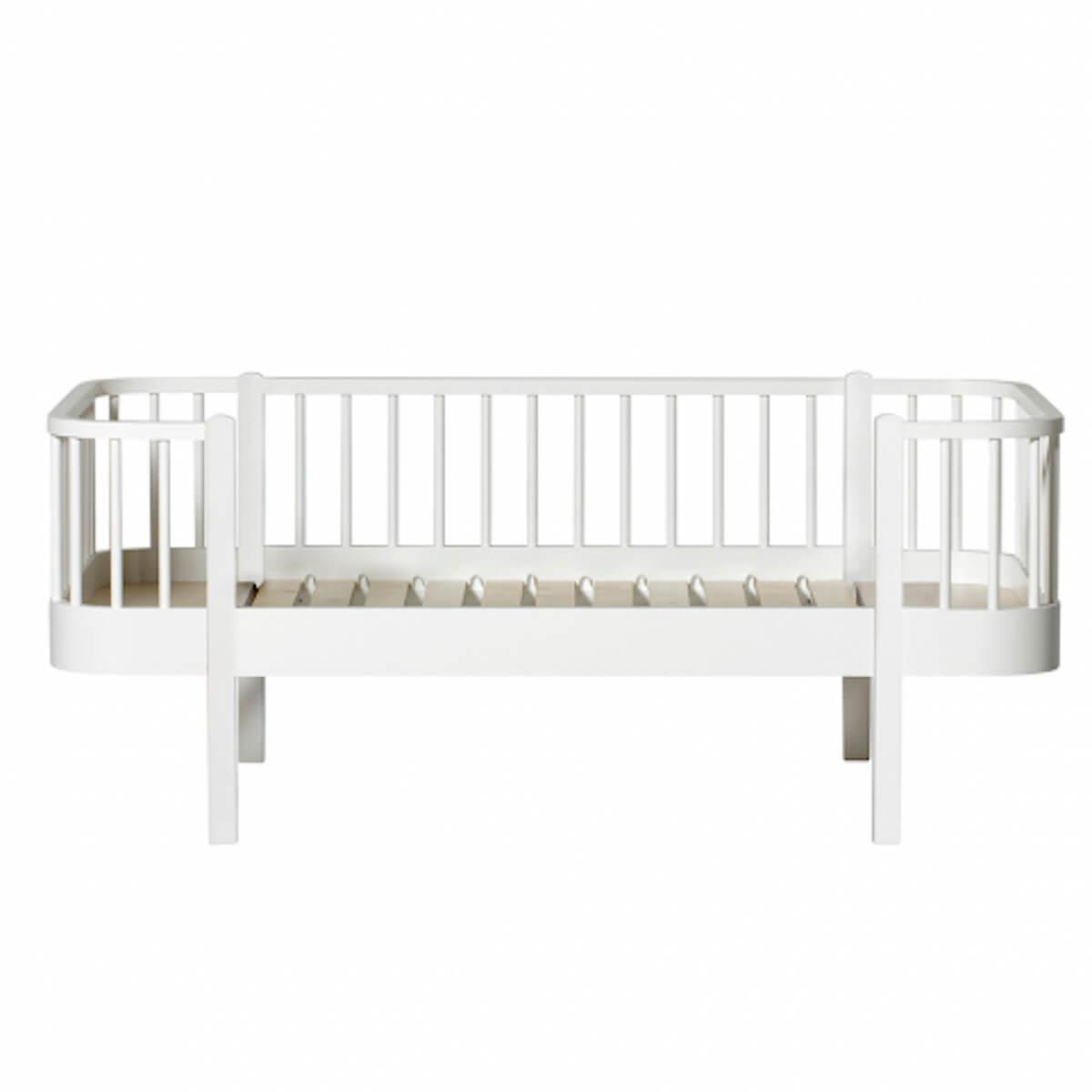 Cama-sofá evolutiva 90x160cm WOOD Oliver Furniture blanco
