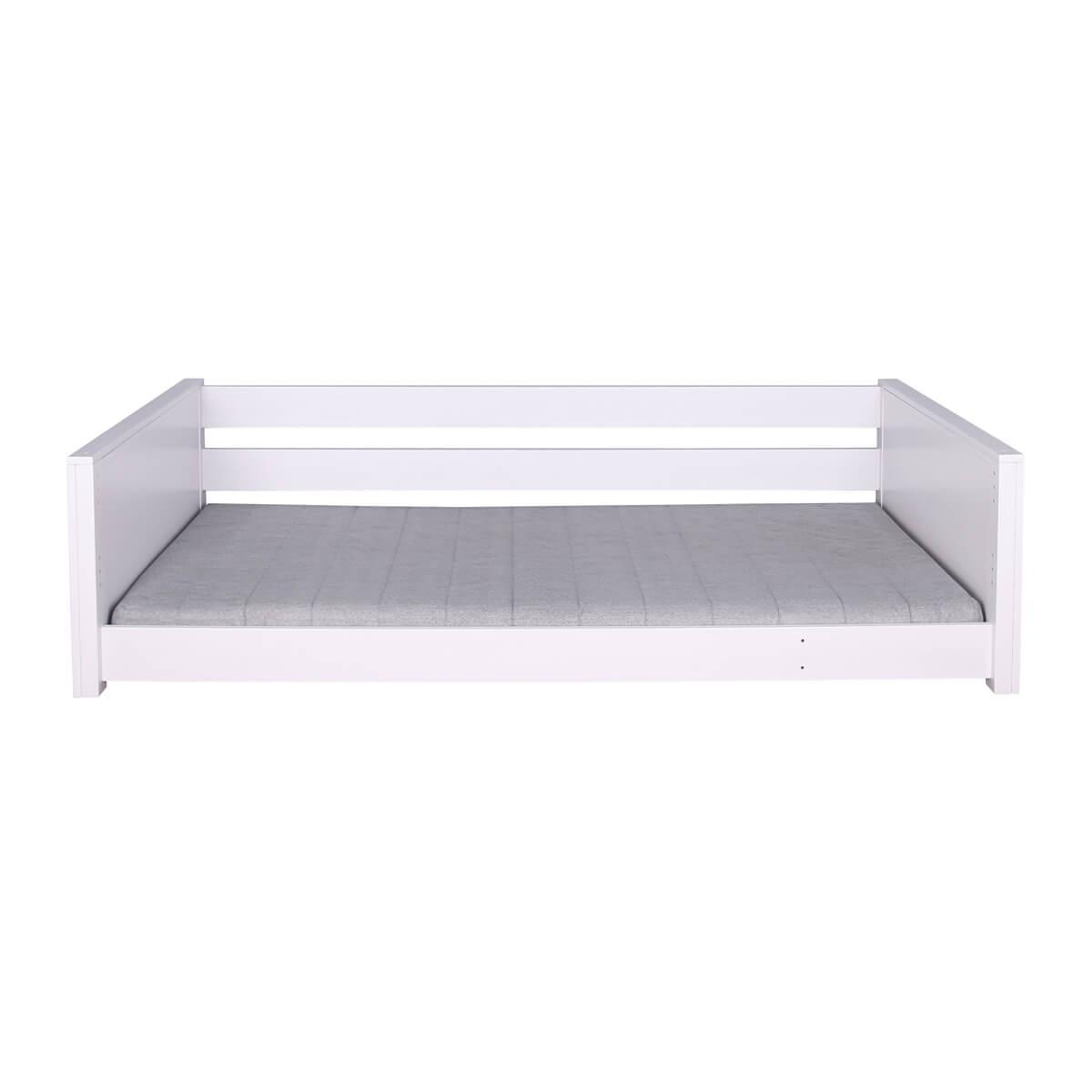 Cama-sofá montessori KASVA haya lacado blanco
