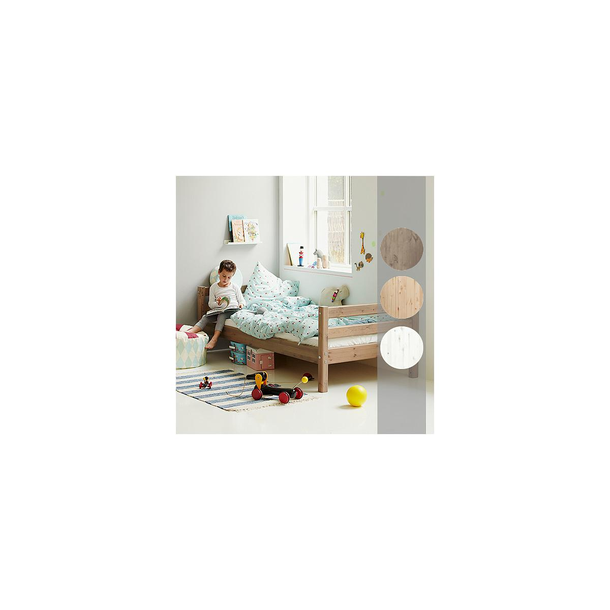 Cama somier 90x190 CLASSIC Flexa blanco cal