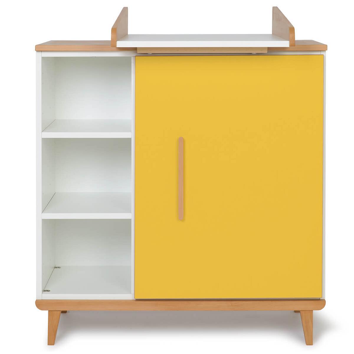 Cambiador cómoda 1 puerta NADO By A.K. sunshine yellow