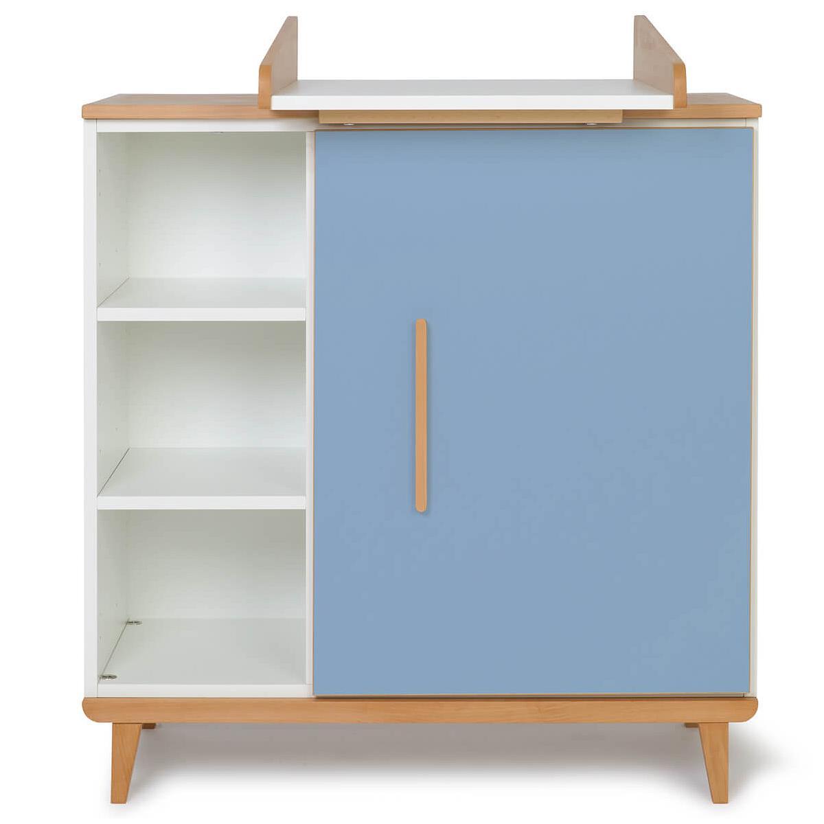 Cambiador cómoda 1 puerta NADO capri blue