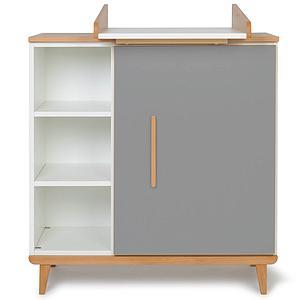 Cambiador cómoda 1 puerta NADO slate grey