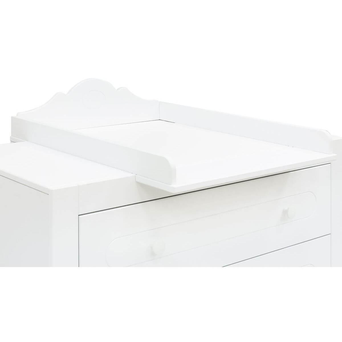 Cambiador cómoda EVI Bopita blanco