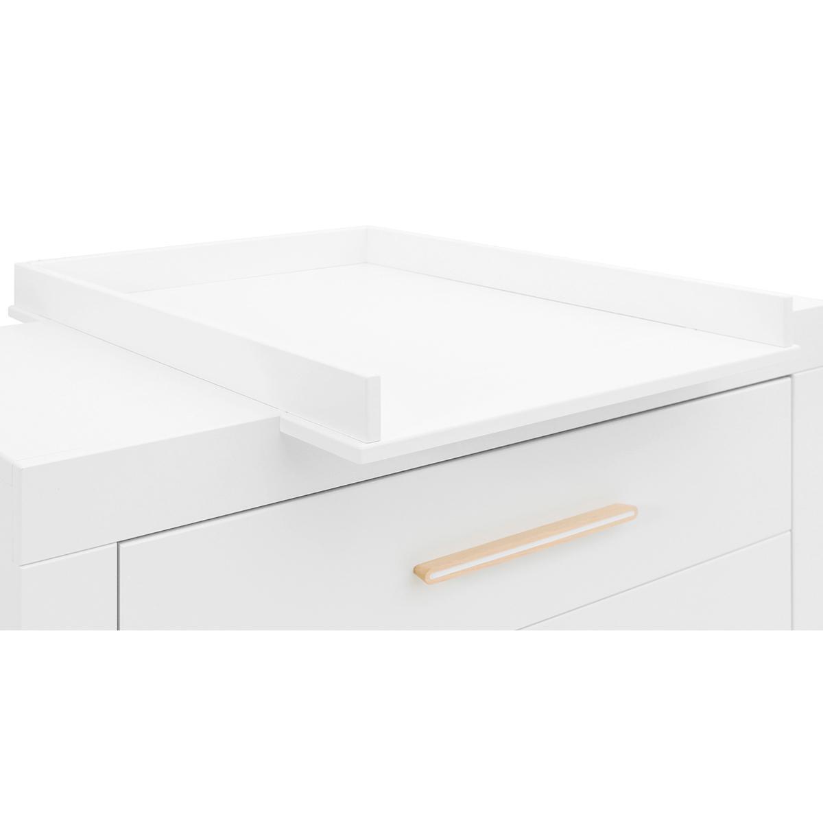 Cambiador cómoda LISA Bopita blanco-natural
