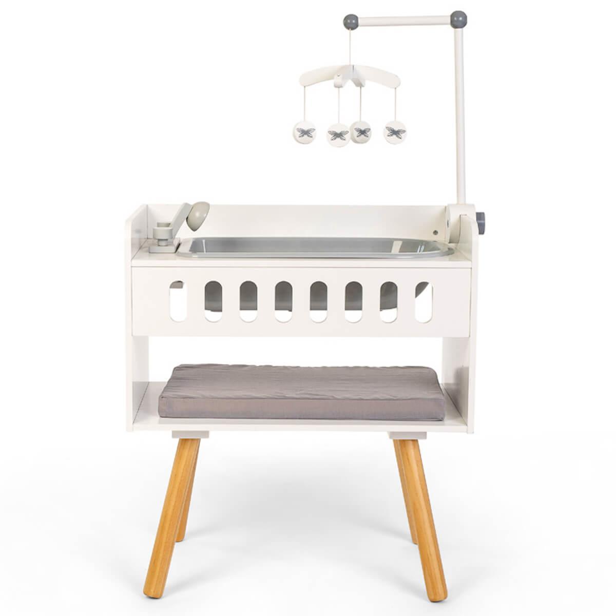 Cambiador muñecas Astrup blanco-natural