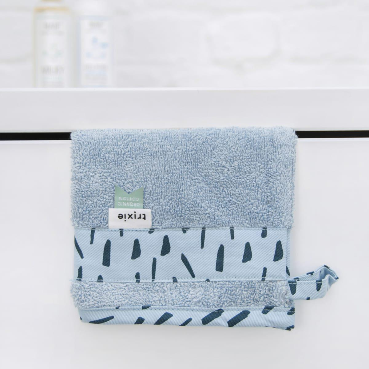 Capa de baño-manopla BLUE MEADOW Trixie
