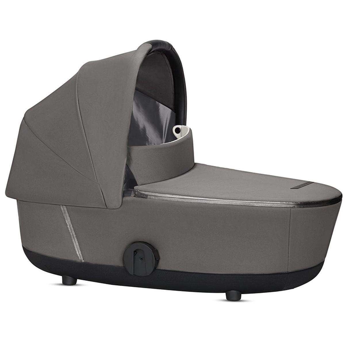 Capazo de luxe MIOS Cybex manhattan grey-mid grey